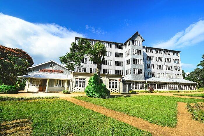 Beautiful and fabulous Ceylon Tea Museum