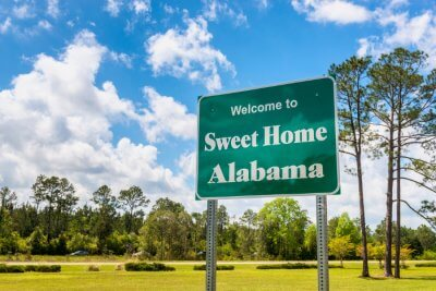 Beautiful places in Alabama,USA