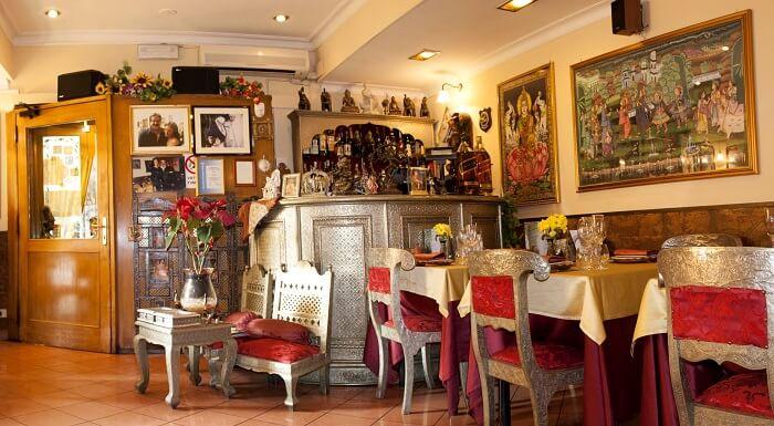 indian restaurants in rome