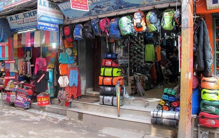 trekking shops