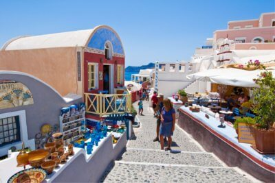 greece shopping cover