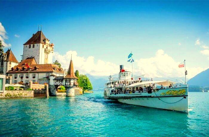 lake thin cruise