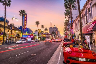 Major attractions in Los Angeles
