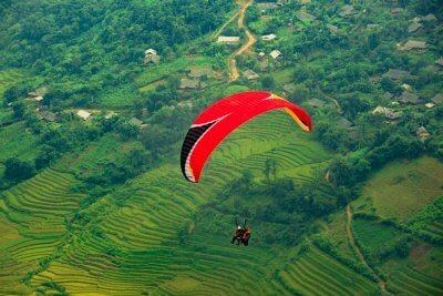 vietnam paragliding