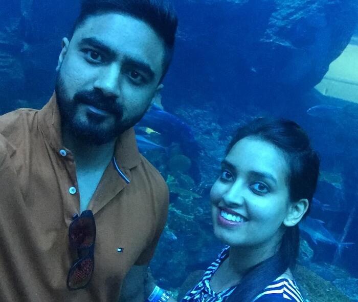 Large aquarium in dubai