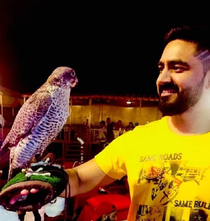 Me having fun with my Bird