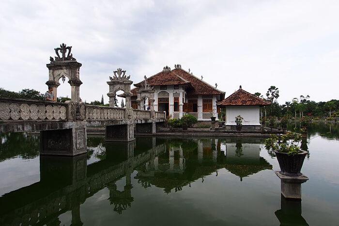 About Ujung Water Palace