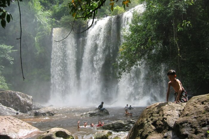 About Waterfalls Near Siem Reap