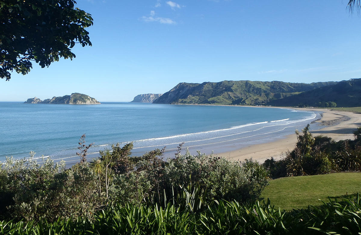 Anaura Bay Motor Camp in New Zealand