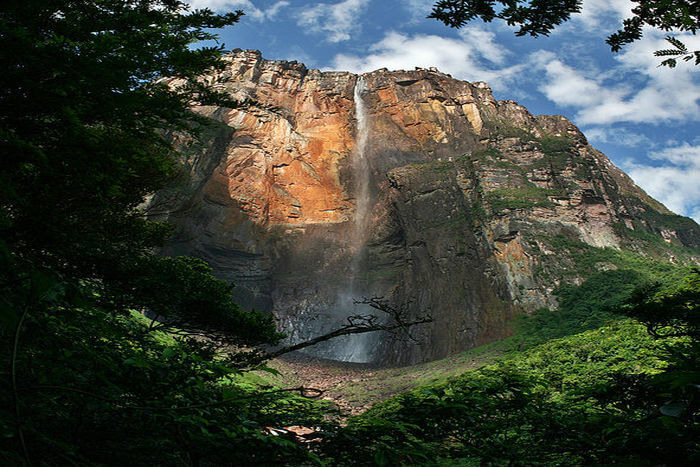 long waterfalls