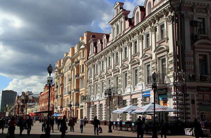 the best Moscow shopping road