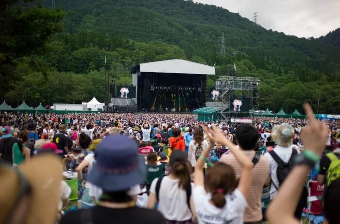 Attend the Fuji Rock Festival