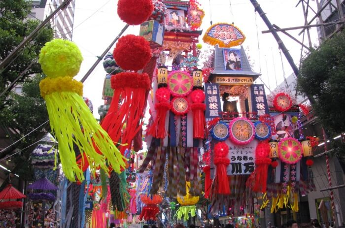 Attend the Tanabata Festival