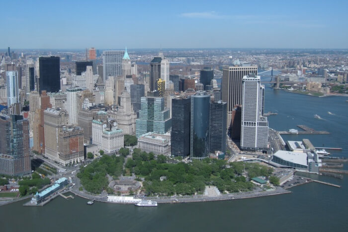 Best Places to Stay Near Battery Park In New York