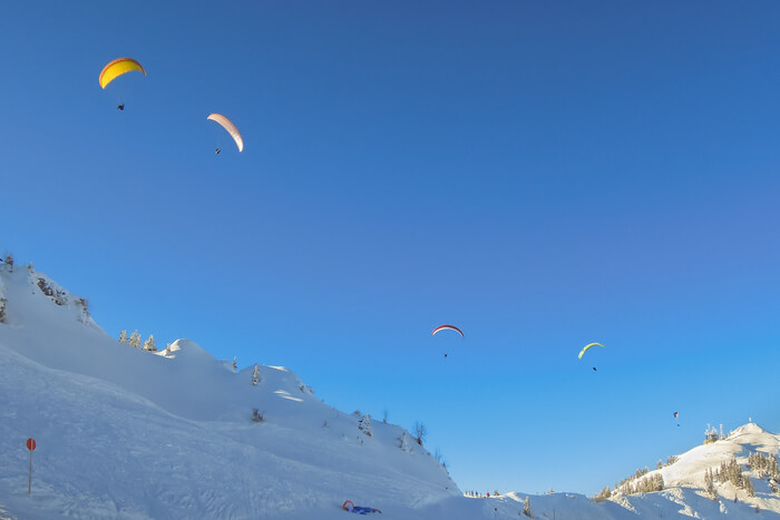 exciting Paragliding