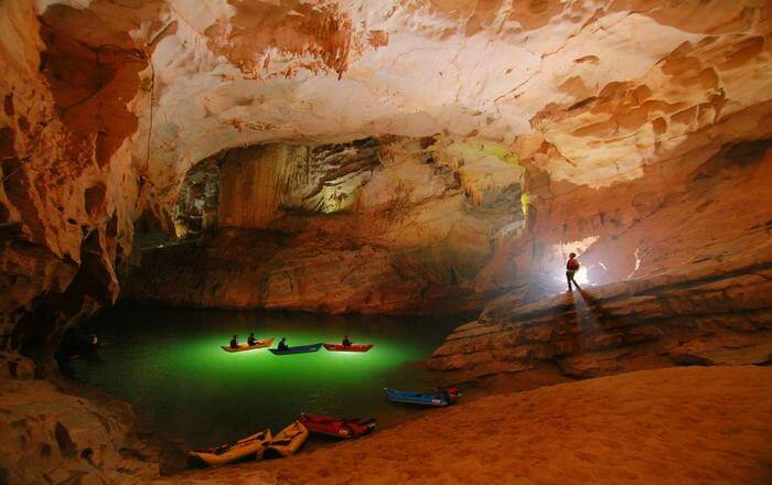 beautiful cave