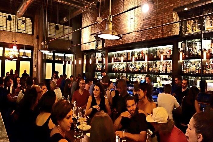 people enjoying in Bar