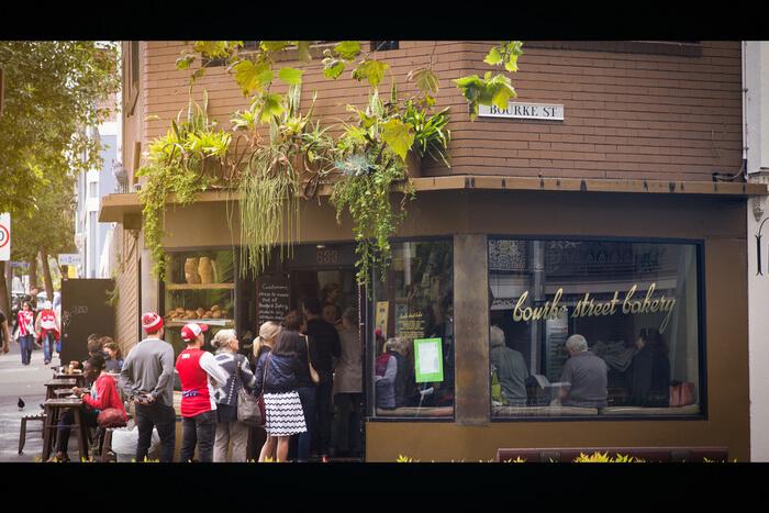 Street Bakery view