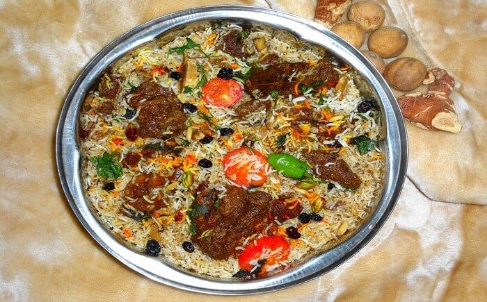 Chana Masala food