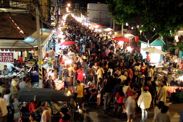 Chang Puak Gate Night Market