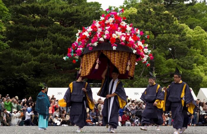 Check out Aoi Matsuri (festival)