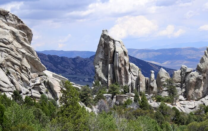 rock-climbing place