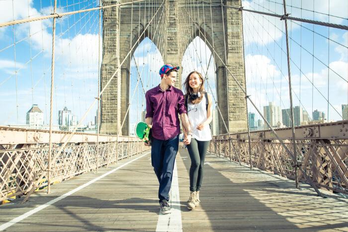 Cover Honeymoon In New Yorkepb0310