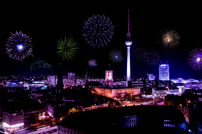 New year eve parties in Berlin