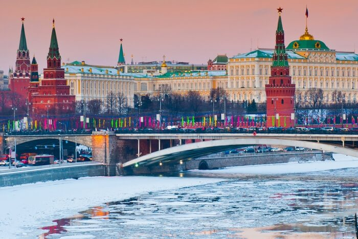 Cover - moscow in january