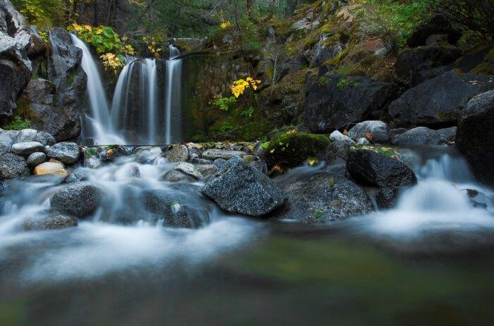 Crystal Creek Falls