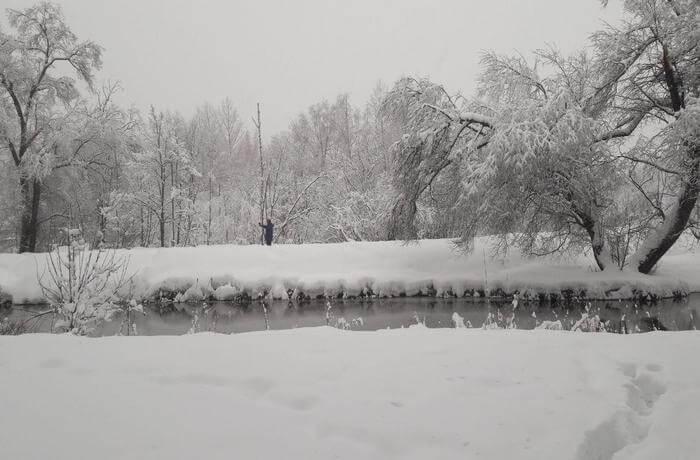 December in Russia