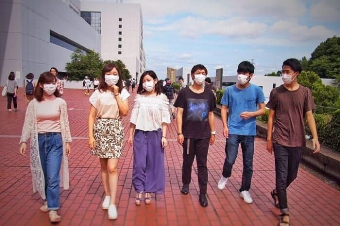 Don't freak out when you see locals wearing face masks