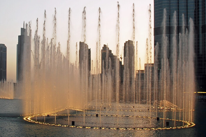 Dubai Fountain in Dubai