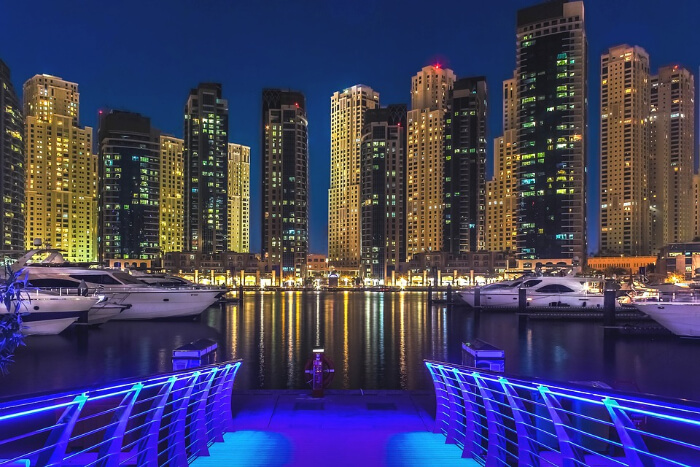 Dubai Marina in Dubai
