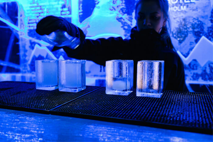 Enjoy Partying At The Ice Bar