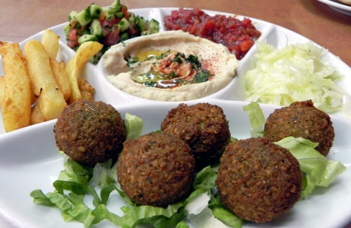 Enjoy some authentic Israeli food