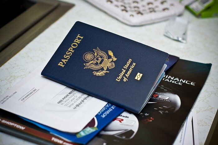 passport essential packing
