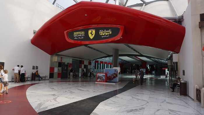 Ferrari world in Dubai