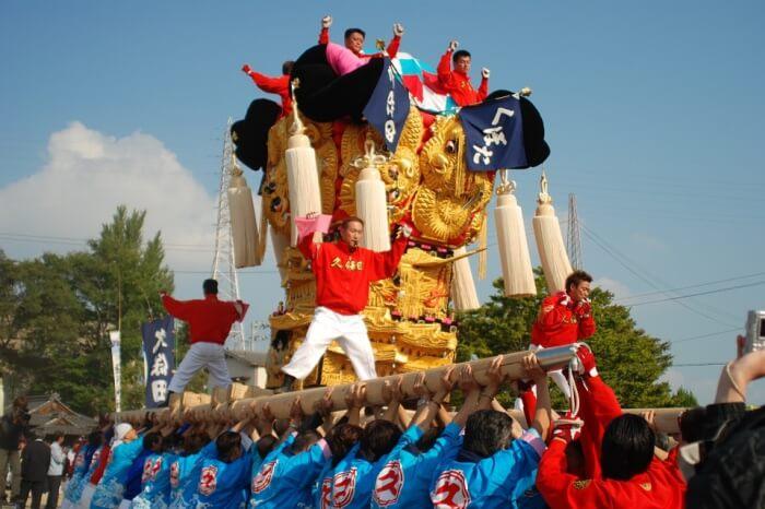 Experience the Niihama Taiko Festival