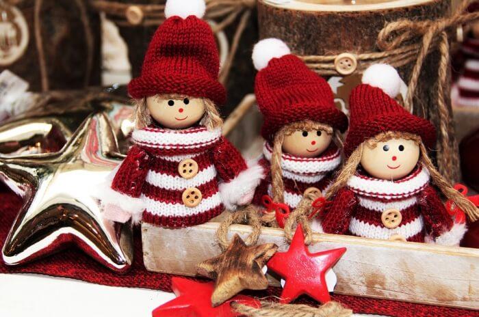 Christmas Elves Figures Christmas Time Imp