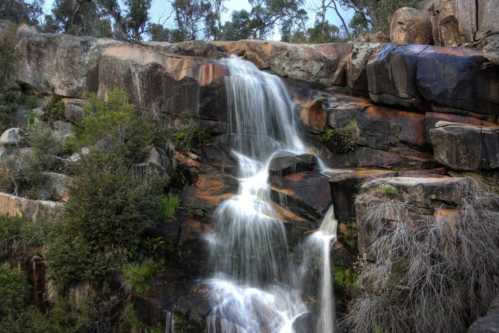 a gorgeous waterfall