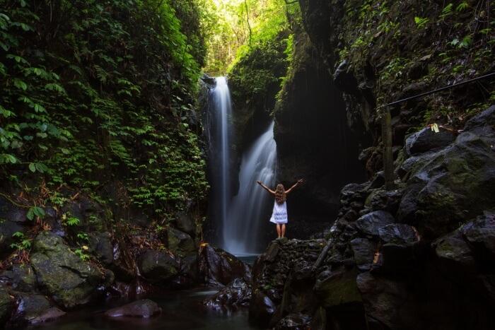 Gitgit Waterfall cover