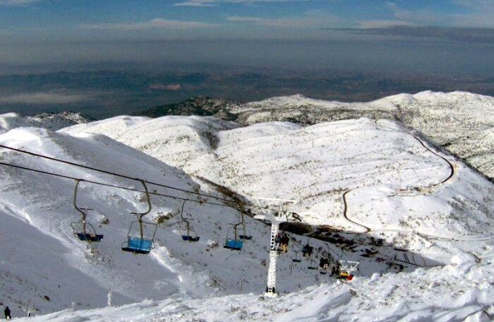 Go skiing at Mt. Hermon