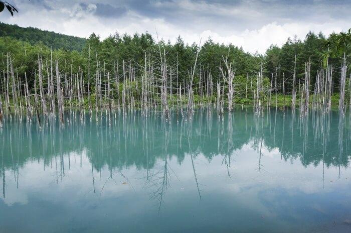 Go visit the Blue Pond