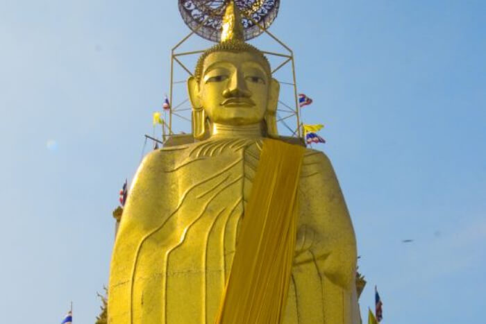 World's largest golden statue of Buddha in Thailand