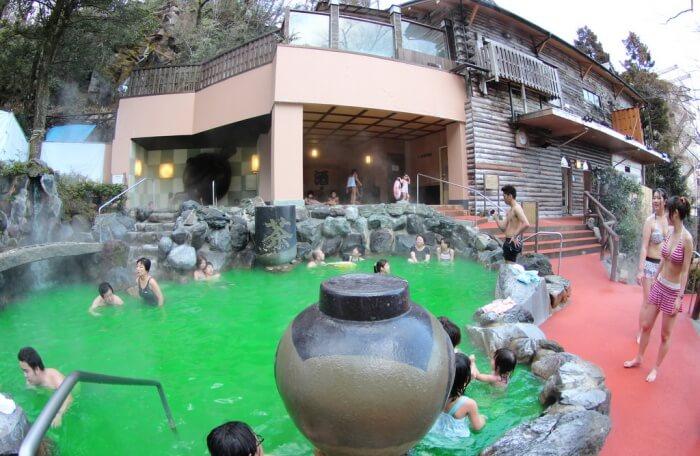 Hakone Kowakien Yunessun Water Park