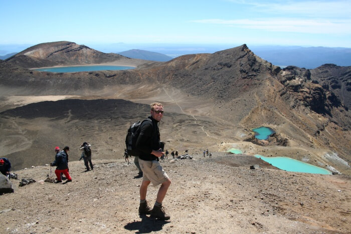 Hiking, Tongariro Alpine Crossing