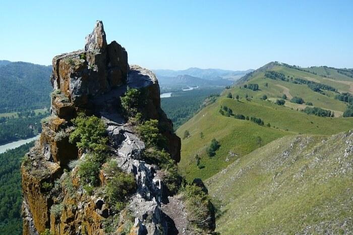 Hiking in Altai Region