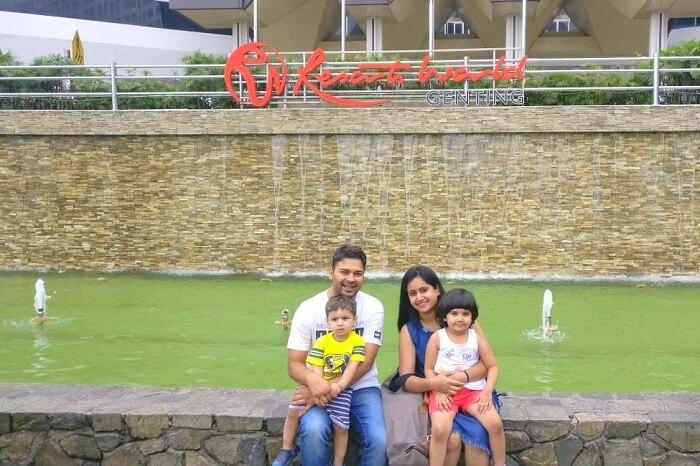 sandeep family trip to malaysia