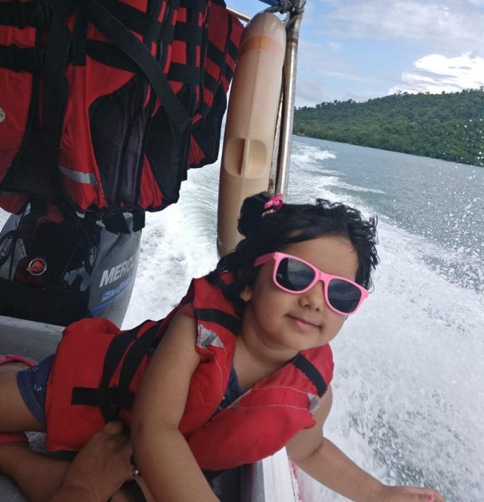 We in boat